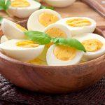 فوائد البيض المسلوق للتخسيس